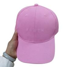 2016 Women Men Cap Fashion Summer Spring Cotton Caps Letter Solid Adult baseball Cap Black White Hat Snapback Women Cap(China (Mainland))