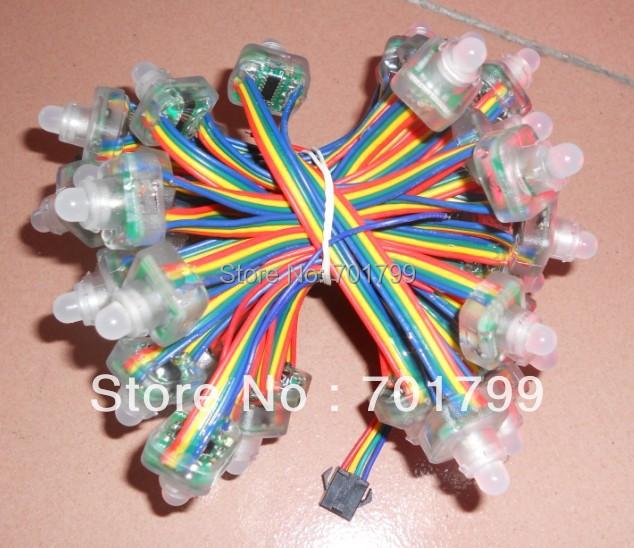 led pixel module,WS2801,DC5V input,IP68;50pcs a string;IP68
