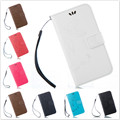 Vintage Wallet PU Leather Case Luxury Flip Cover with Card Holder Phone Bag For Samsung Galaxy