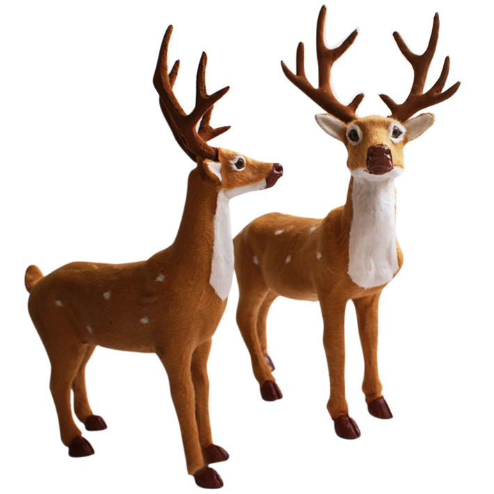 Reindeer outdoor decorations my web value for Christmas deer decorations indoor