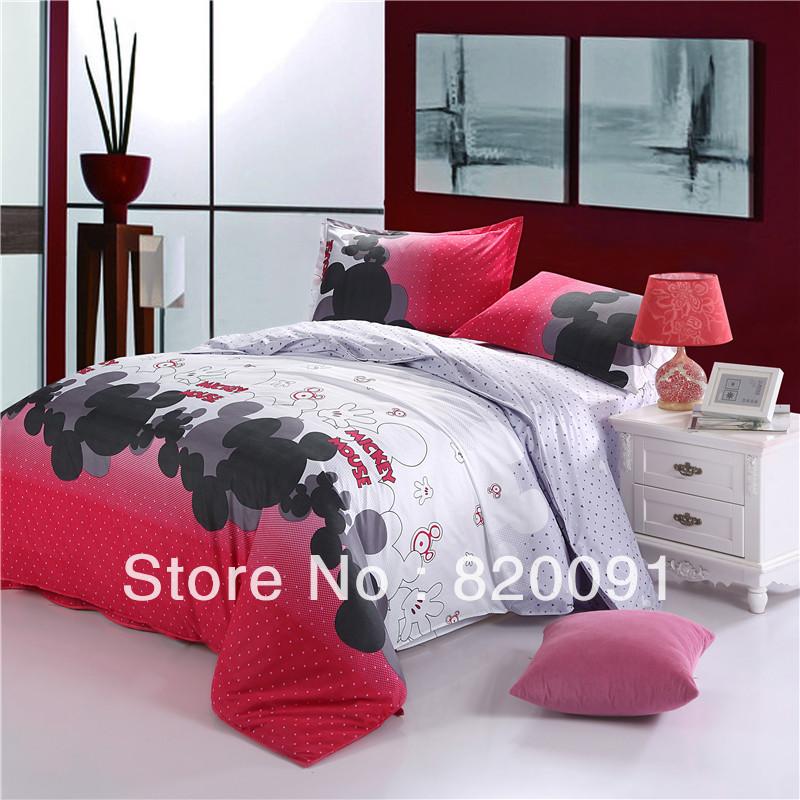 Mouse Print Duvet Cover Bedding For Children Bedroom Set 3