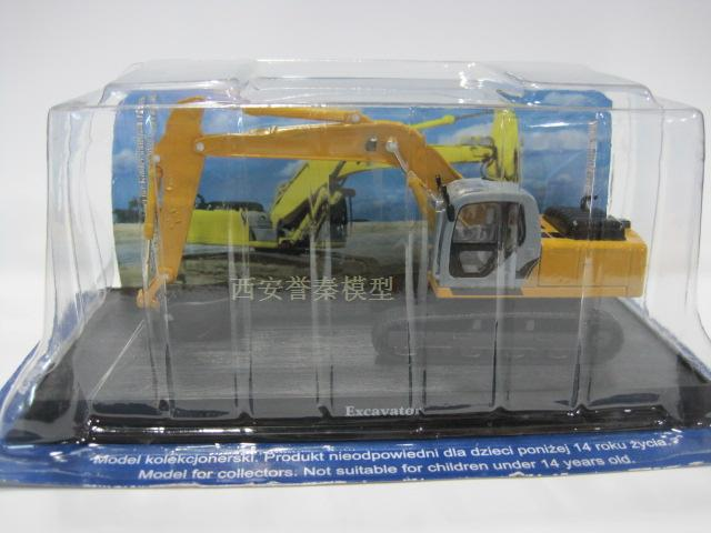 1:64 Alloy Excavating machinery Model Truck Toy Free shipping(China (Mainland))
