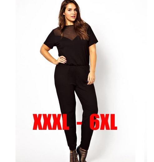 Jumpsuit For Women Plus Size Plus Size 6xl Sexy Women