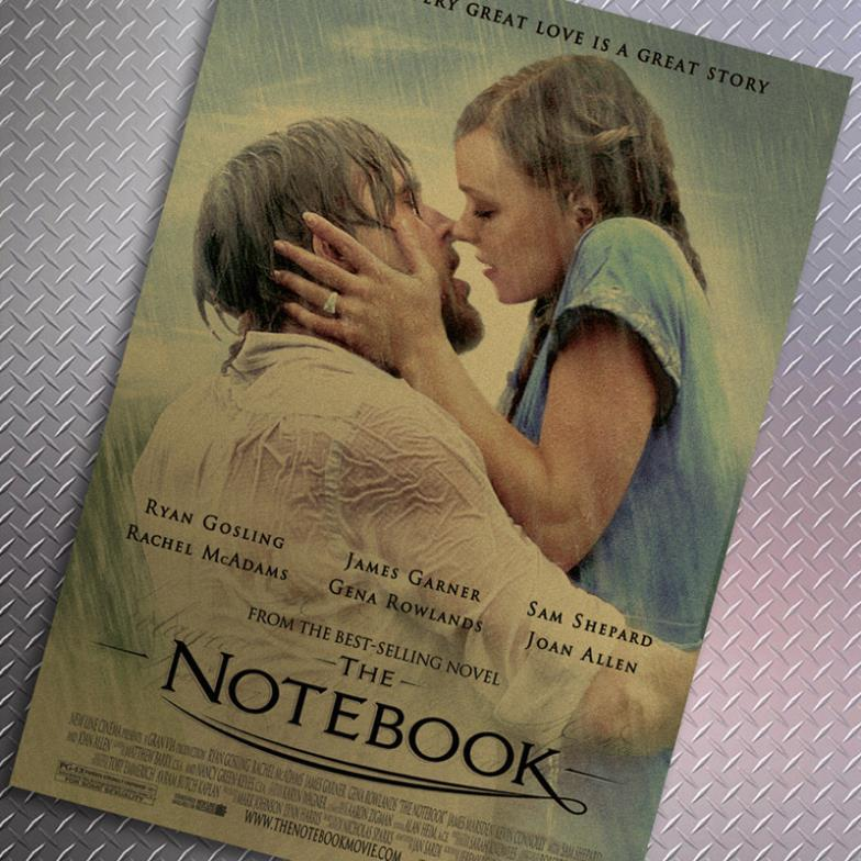 movie review essay notebook Movie the notebook the notebook the notebook he tells about the love between a man and a woman, from when they met as teenagers until they are in a nursing home, trying to overcome the trials of alzheimer's and loss of memory.