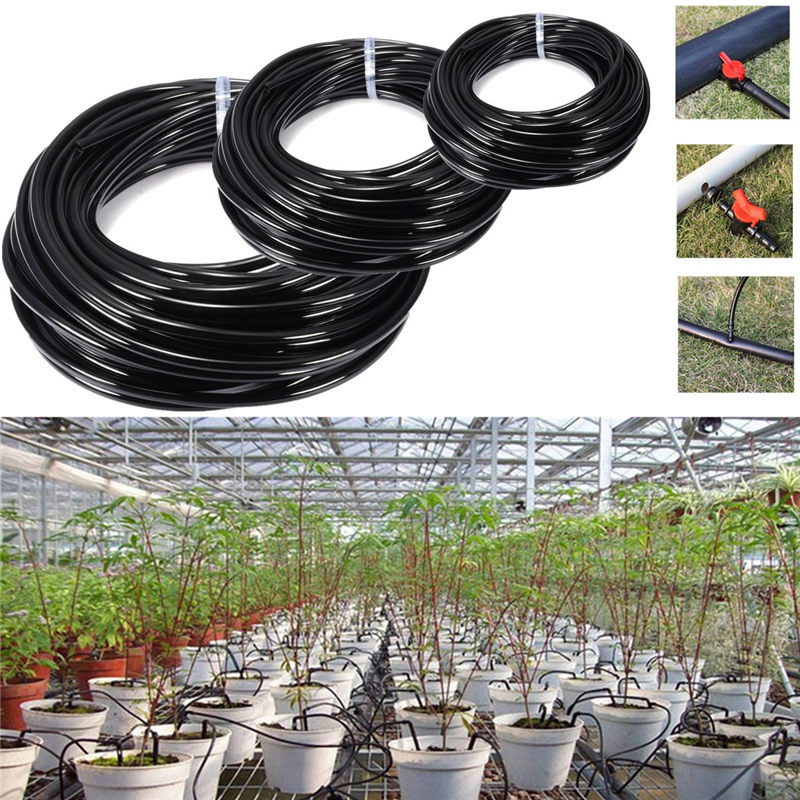 New 5m/10m/20m Watering Tubing PVC Hose Pipe 4/7mm Micro Drip Irrigation Pipe System Sprinkler Fittings Hose Reels For Gardens(China (Mainland))