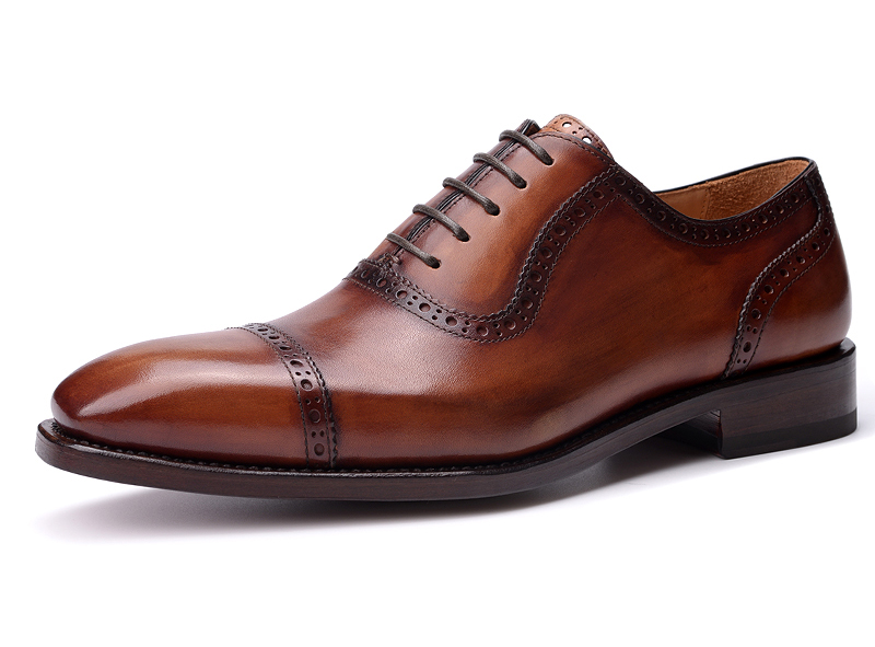 Goodyear Men brogues shoes genuine leather carved business casual shoes handmade fashion men dress shoes<br><br>Aliexpress