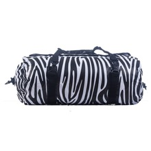 Outdoor Camping Waterproof Zebra Pattern Dry Bag Duffel 40L Free Shipping(China (Mainland))