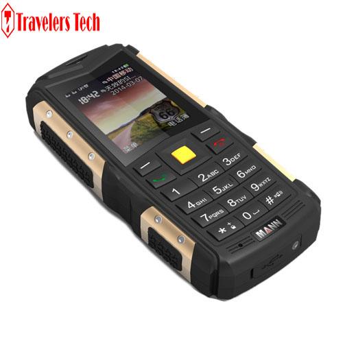 Unlocked MANN ZUG S Waterproof Rugged Phone Old Man Phone Dual SIM GSM 2570mAh Battery Power Bank FM Long Standby Mobile Phone(China (Mainland))