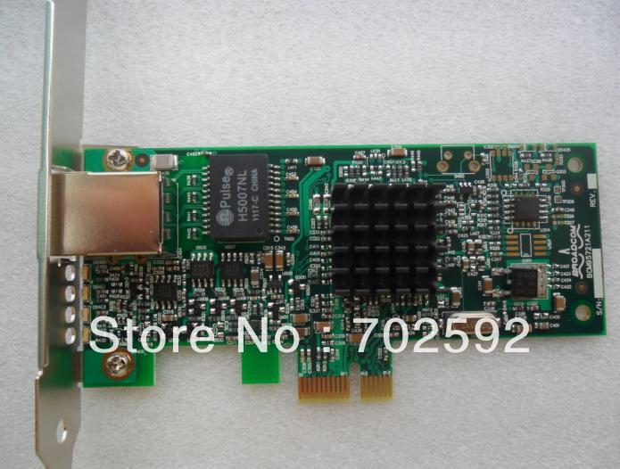 brand new Broadcom BCM5721 PCI-e Server 1000M network adapter supports WIN7 ESX(China (Mainland))