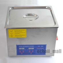 10L Digital Heated Ultrasonic Cleaner Cleaning Machine w/Timer(China (Mainland))