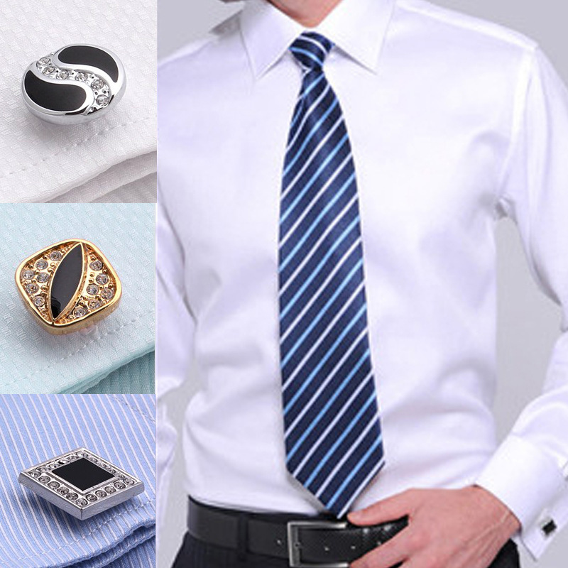 Top Quality 2014 New Arrival Mens French Cuff Shirts Long