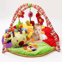 Coloré bébé tapis de jeu jeu de Musica avec jouets enfants jouent tapis enfants tapis ramper Tapete jouets éducatifs(China (Mainland))