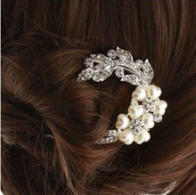 Best Deal Diomedes Lady Lovely Vintage Jewelry Crystal Hair Clips Hairpins- For Hair Clip Beauty Tools 1PC(China (Mainland))
