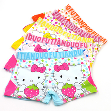 Buy Kids girls Underwear Panties 4Pcs/Lot hello kitty Briefs Girls Calcinha Infantil Baby Cotton Children Clothes Boxers Accessories for $7.17 in AliExpress store