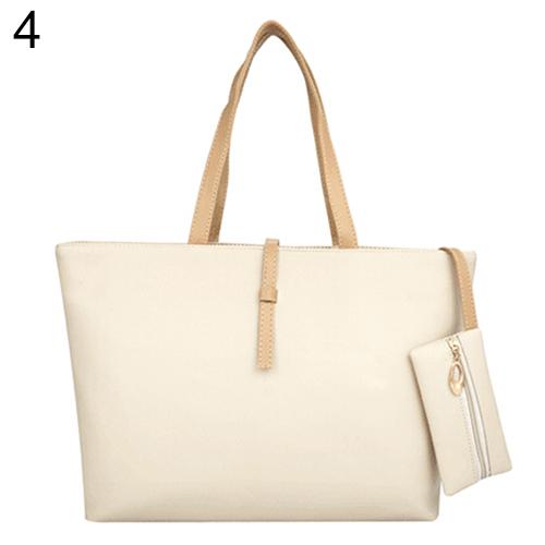 American Style Womens Big Shoulder Bag Faux Leather Handbag Buckle Clutch Messenger Purse<br><br>Aliexpress