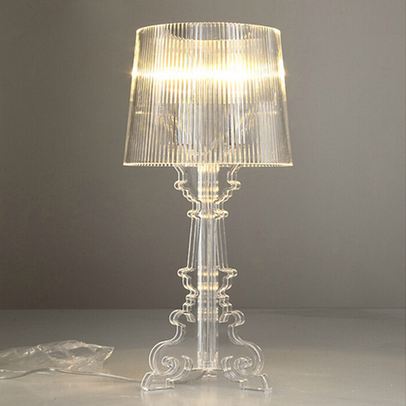 """2015 New Arrival Acrylic Table Lamps Light Modern """"Ghost Shadows"""" Bedroom Bedside Table Lamps For Home Decoraction(China (Mainland))"""