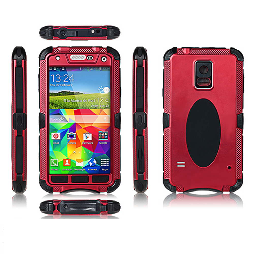 New Water Proof Mobile Phone Cases Aluminum Metal Covers Samsung Galaxy S5 I9600 - Early store