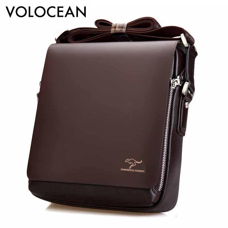 2017 New Messenger Bag Men Big Promotion Kangaroo Brand Man Bag Men's Bags Men Messenger Casual Shoulder Briefcase(China (Mainland))