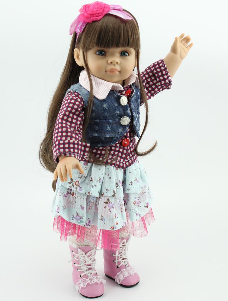 wholesale Popular American girl doll Journey Girl Dollie& me fashion doll Toys for girls Birthday Gift