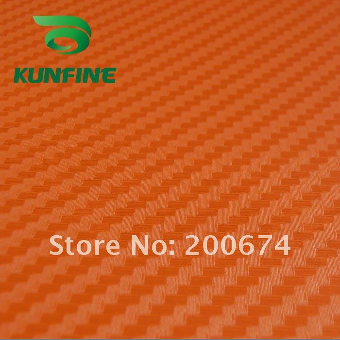 Russian Free shipping ! 1.52*30M /lot 3D Carbon Fiber Vinyl Car wrap film Best price and High Quality(China (Mainland))