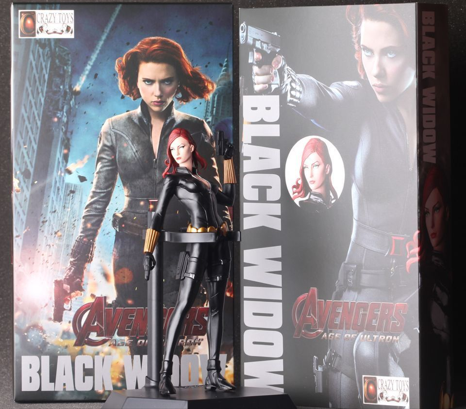 2015 New Movie Avengers: Age of Ultron Movie Super Hero Blackwidow Action Figure Fans Collection Kids Toys Models 30cm 7<br><br>Aliexpress