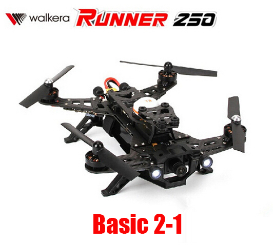 (In stock) Original Walkera Runner 250 Racing RC Quadcopter (Basic 2-1 Version ) Without DEVO 7 transmitter Drone BNF 2.4GHz(China (Mainland))