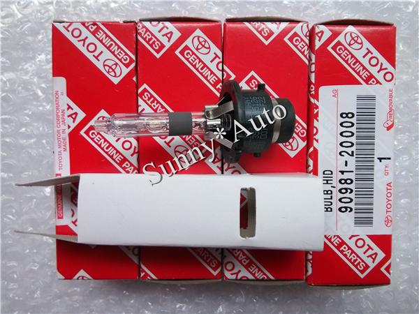 Toyota Hid Xenon Bulb Lamps D2R 4300K 12V 35W 90981-20008(China (Mainland))