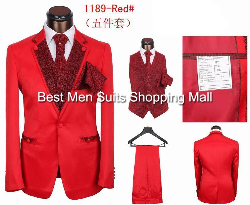 2017 Wholesale 2015 Dropshipping Fashion Slim Fit Prom Men Wedding ...