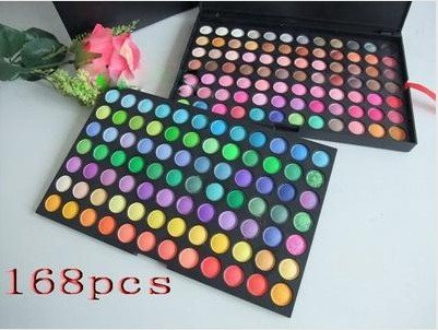 Free shipping new 168 Color Fashion Brand Eye Shadow Palette Profession Makeup