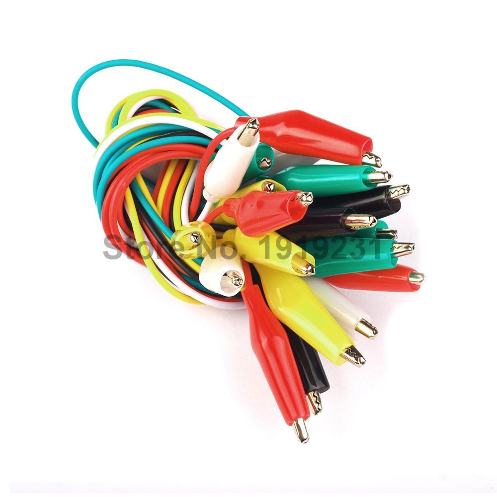 wiring harness clips promotion shop for promotional wiring harness shipping 10pcs double ended crocodile alligator clips wire lead test clip