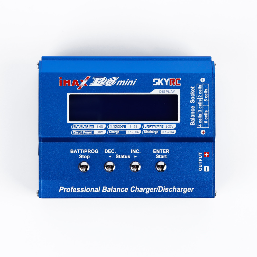 Original SKYRC iMax B6 Mini Lipo Charger Battery Balance Charger DisCharger With XT60 Plug For RC Quadcopter