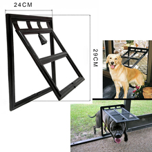 4 Way Small Medium Pet Lockable Safe Flap Door