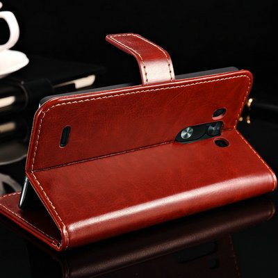 Hot Sale G3 Stand Book PU Leather Case For LG Optimus G3 D850 D855 Luxury Phone Back Cover With Card Slot 10 pcs/lot(China (Mainland))