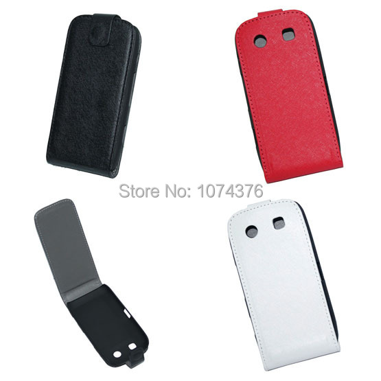 For Blackberry Bold 9860 Case Cross Pattern PU Leather Cover Turn Up To Down Ultra Slim Phone Cases For BB 9860 Free Shipping(China (Mainland))