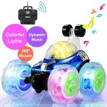 Buy Roll Sounding flashing RC Car 4WD Rock Crawlers climbing Car Motors Bigfoot Car Remote Control Model Off-Road Vehicle music Toys for $18.96 in AliExpress store