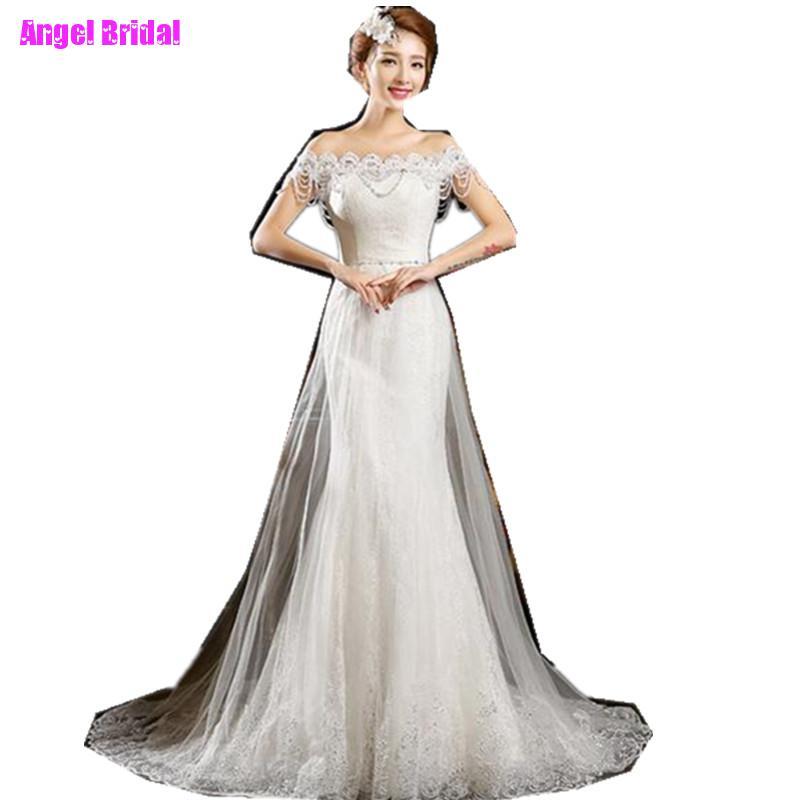 Diamond Fishtail Wedding Dresses : Wedding dress fishtail promotion for promotional