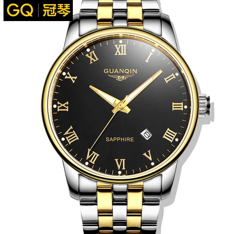 oooViolin male quartz watch waterproof luminous large dial stainless steel belt watches vintage commercial male watch<br><br>Aliexpress