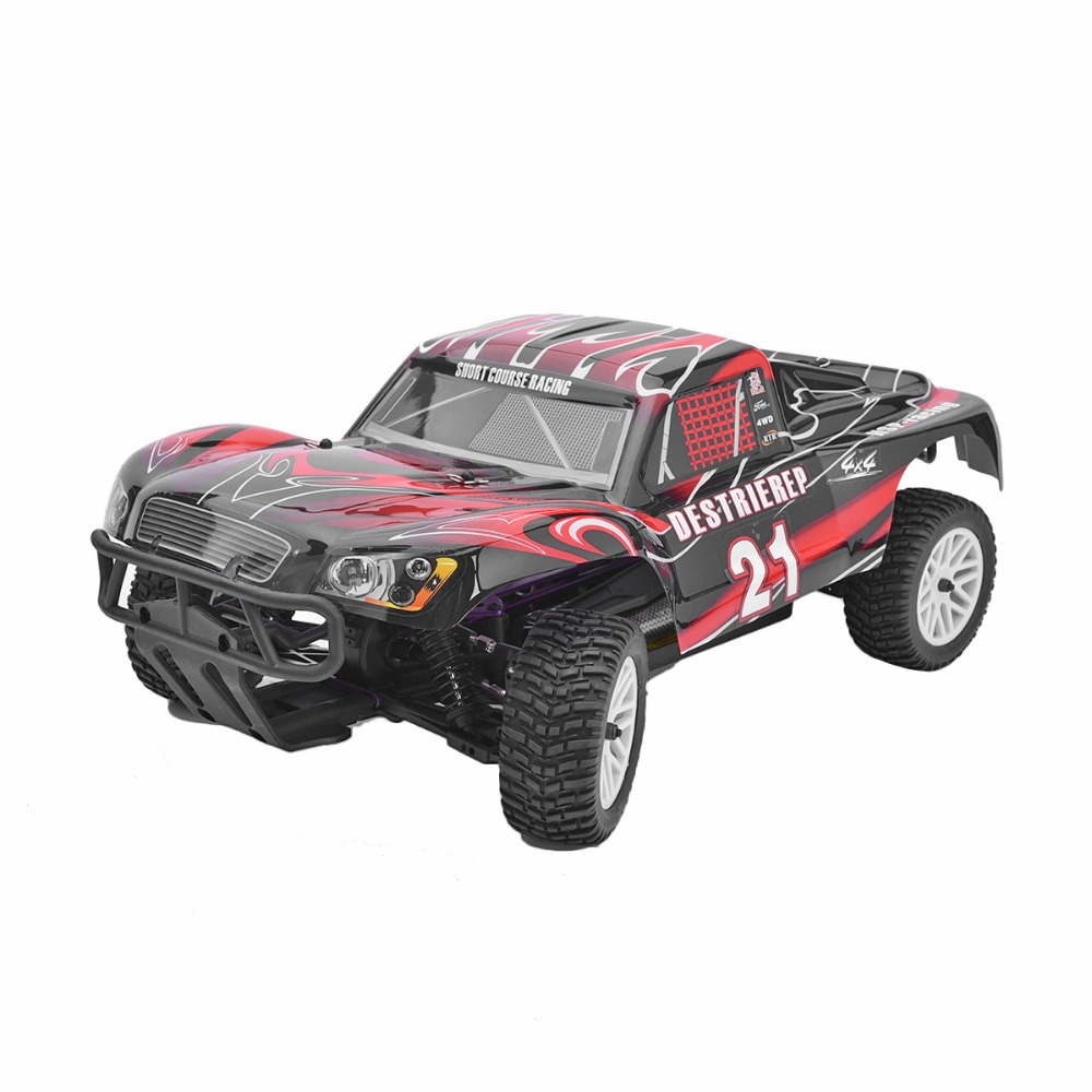 HSP Rc Car 1/10 Electric Power Remote Control Car 94170 4wd Off Road Rally Short Course Truck RTR Similar REDCAT HIMOTO Racing(China (Mainland))