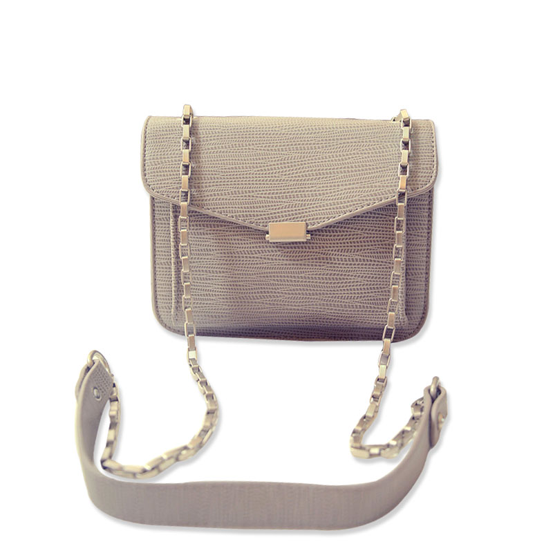 2016 New Fashion Women Crossbody Bags Famous Brand Designer Lizard Messenger Bag Women Chain Small Clutch Purse Bolsas Femininas(China (Mainland))