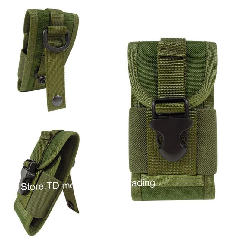 Universal Outdoor Tactical Holster Mini Camo Bag Case for iPhone/Xiaomi redmi 4/4A/3/3s/pro/mi4/mi4c/Meizu m3s/u10/Doogee x5/max