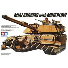 Buy OHS Tamiya 35158 1/35 M1A1 Abrams Mine Plow Military Assembly AFV Model Building Kits for $46.05 in AliExpress store