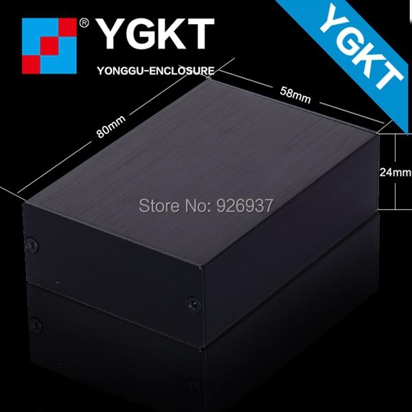 YGK-004 58x24x80 mm / 2.28''*0.95''*3.15'' (wxhxl)custom aluminium enclosures for electronics(China (Mainland))