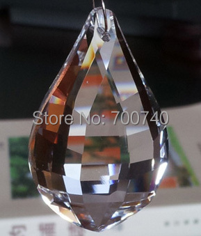 100% Quality Guaranteed + FREE RETURN---AAA Top Quality 76mm Chandelier Crystal Pendants(48pcs/lot)<br>