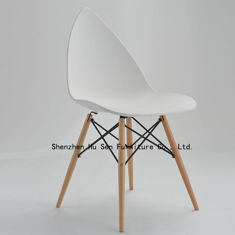 hotel modern dining Chair new PP plastic chair fashion coffe outdoor lounge chairs restaurant Furniture - Shenzhen Hu Sen Co., Ltd. store