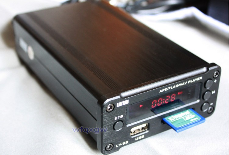 Фотография 100%New 80w*2+ 2 Channel APE FLAC Lossless musi player + digital TDA7498 amp Amplifier all-in-one machine