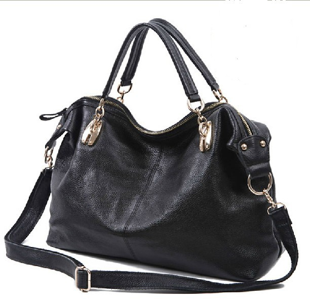 Hot style genuine leather chain fashion bag women first layer of cowhide casual one shoulder bag cross-body bag for women<br><br>Aliexpress