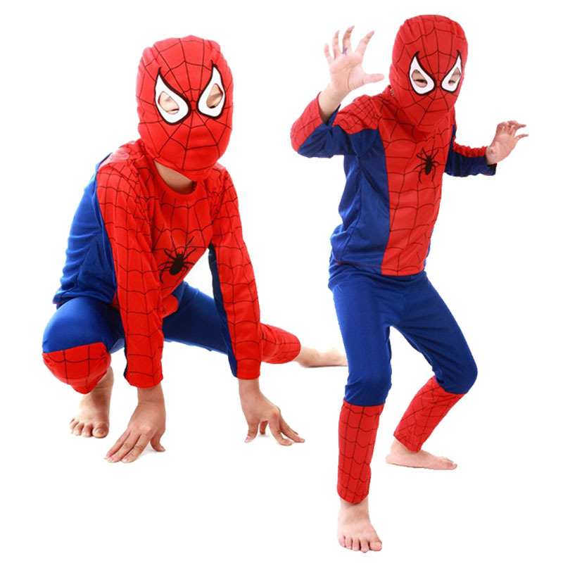 Гаджет  Spiderman Batman Children Party Cosplay Costumes Halloween Gift For Girls Boys Clothes Children