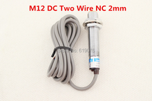 Buy 5Pcs M12 DC Two Wire NC 2mm distance measuring Inductive proximity switch sensor LJ12A3-2-Z/DX for $16.15 in AliExpress store