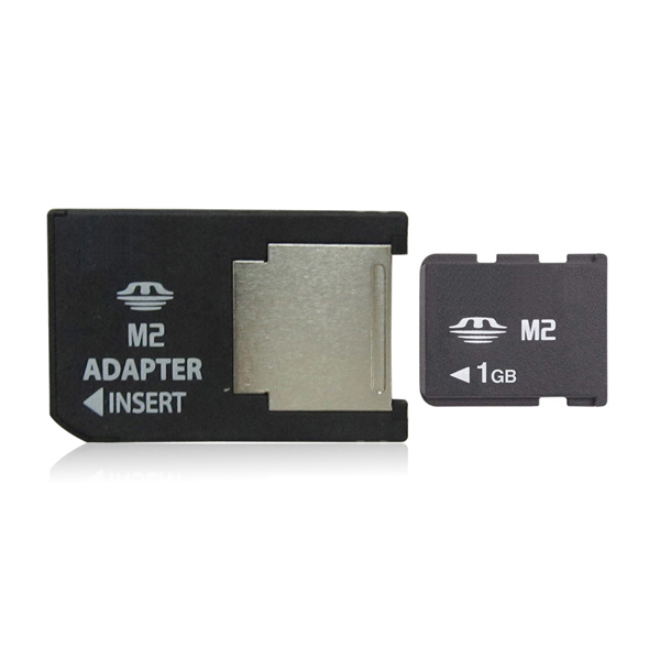 1GB Memory Card M2 Card with adapter Memory Stick Micro(China (Mainland))