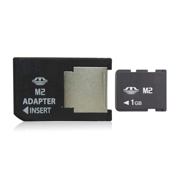 1GB Memory Card M2 Card with adapter Memory Stick Micro(China (Mainland))